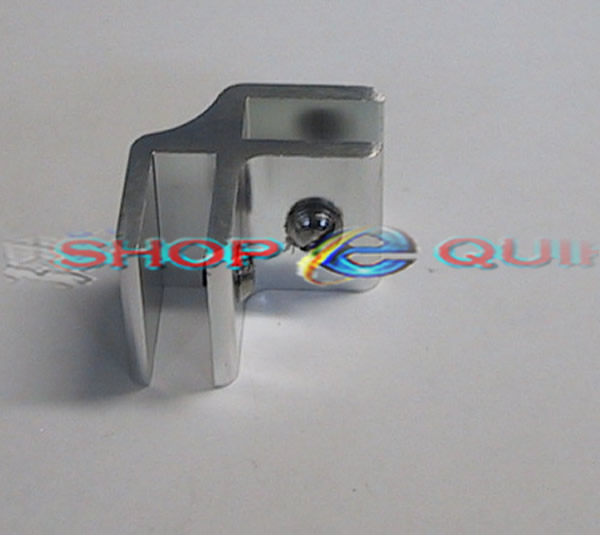 ... 2 Way Glass Cube Connector Aluminium
